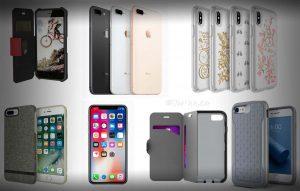Θήκες αδιάβροχες iphone8 και iPhone8 Plus