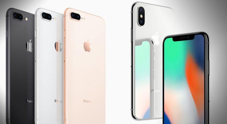 Χρώματα του iPhone 8 και του iPhone 8 Plus