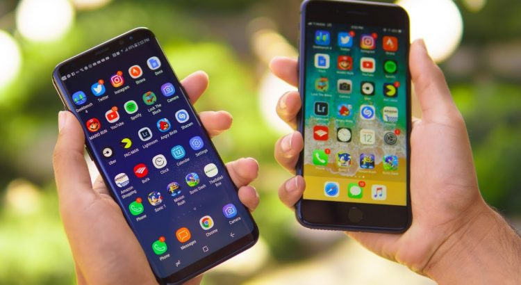 iPhone 8 Plus Vs Samsung Galaxy S8 Plus